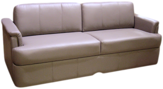 CUSTOM RV SOFA, RV FURNITURE, MOTORHOME FURNITURE, MOTORHOME SOFA