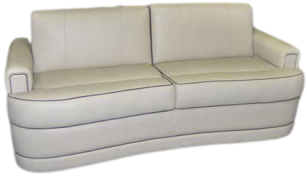 RV FURNITURE, MOTORHOME FURNITURE, RV SOFA, CUSTOM RV SOFA