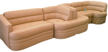 custom rv furniture, custom motorhome furniture,custom rv sofa, custom rv dinette