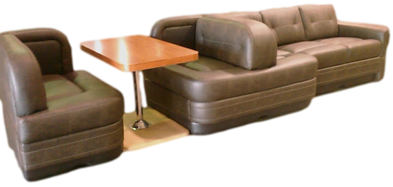 rv furniture, motorhome furniture, villa rv furniture, flexsteel rv sofa, villa custom sofa ...