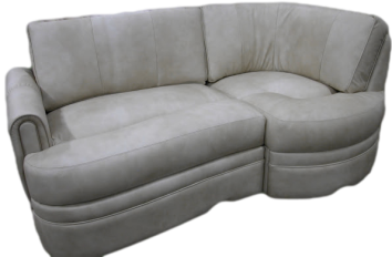 rv custom sofa, rv custom j-lounge, motorhome custom sofa, mortorhome custom j-lounge