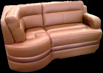 rv custom sofa, rv custom j-lounge, motorhome custom sofa, mortorhome custom j-lounge