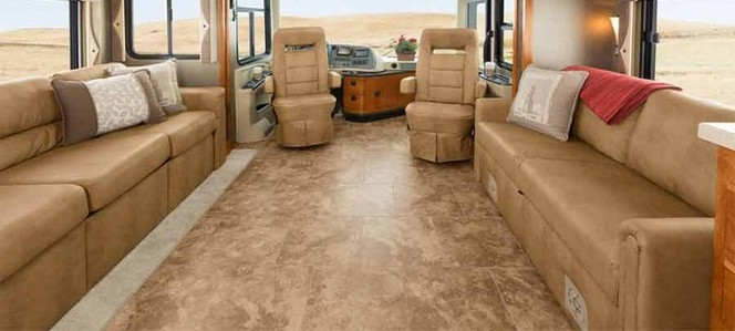 rv flooring, motorhome flooring, rv renovations, motorhome renovations, bus flooring, bus renovation
