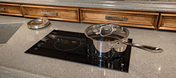 RV INDUCTION COOKTOP, RV RENOVATION, MOTORHOME RENOVATION, MOTORHOME INDUCTION COOKTOP