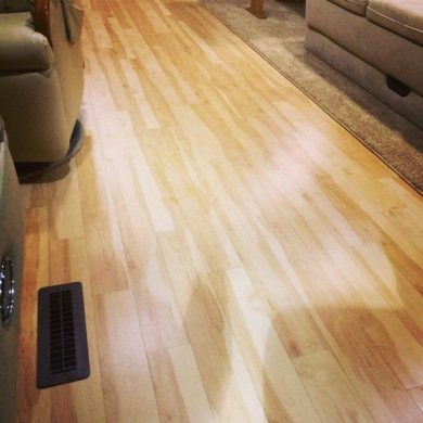 RV FLOORING, MOTORHOME FLOORING, RV RENOVATION, MOTORHOME RENOVATION
