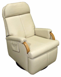Lazy Relaxer Lite Swivel Wallhugger Recliner, Lambright marine furniture, boat furniture, yacht recliner, yacht furniture, flexsteel marine recliner, boat seating
