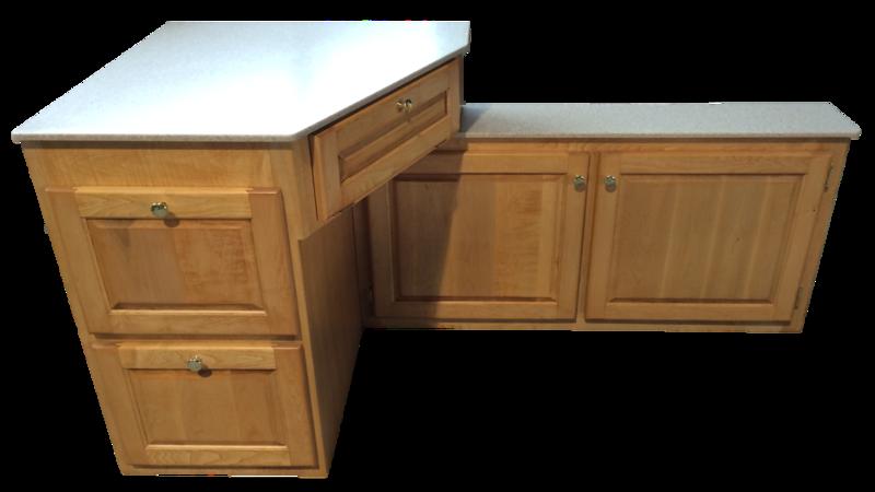 Rv Desks Motorhome Dinette Furniture Custom Woodwork