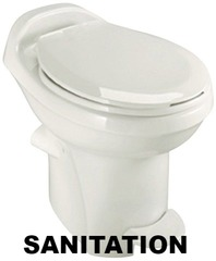 RV TOILETS, RV SANITATION, RV TOILETS